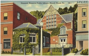 Dimmark Memorial Public Library, Mauch Chunk, Pa.