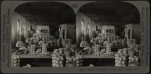 Decorating porcelain ware, Trenton, N.J.