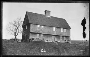 Parson Capen House with kitchen shed