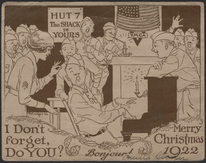 I don't forget, do you? Merry Christmas 1922