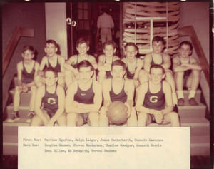 Granville Village School boys' team, 1965
