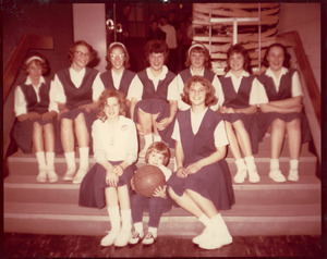 Granville Village School girls' team, 1965