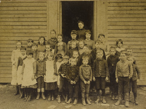 Granville Center School, 1888 or 1889