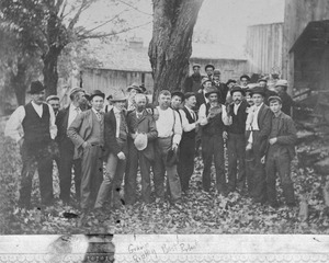 Group of Granville men
