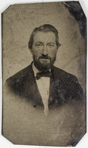 Daguerrotype portrait of unknown man