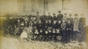 Gibbs, Jennie: Sunday school class in West Granville