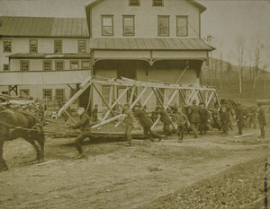 Noble & Cooley 1902 fire: bridge removal