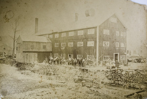 Noble & Cooley Drum Factory and employees before 1889