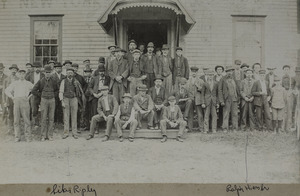 Noble & Cooley Drum Shop employees, unknown date