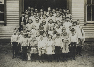 Old Village School class picture