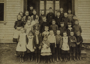 Old Village School unidentified class picture
