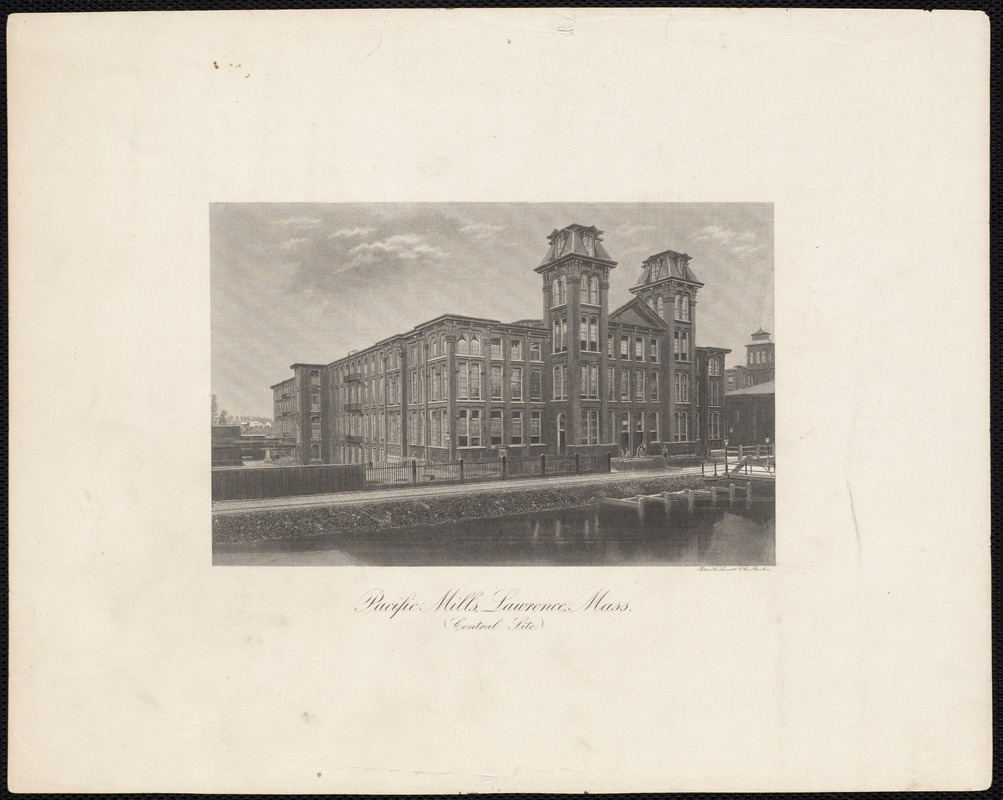 Pacific Mills - Lawrence, Mass.