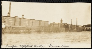 Pacific Upper Mills - river view