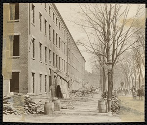 Pacific Mills boarding houses. Canal Street