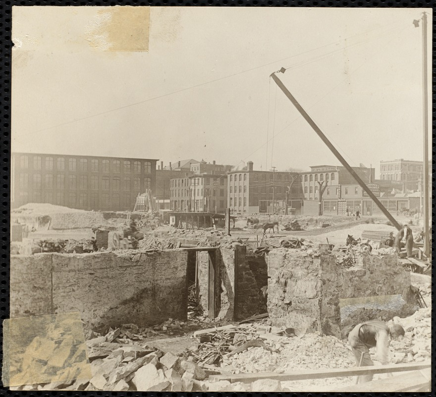 Construction. Pacific Mills