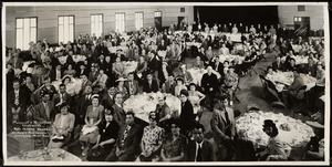 Banquet &  reception tendered to Rev. Joseph Thadeu. St. Mary's auditorium, Lawrence, Mass., June 1, 1947