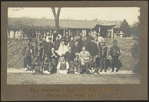 American Legation at Seoul Korea, Dec. 25, 1905