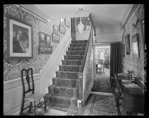 St. Stephen's Rectory: hallway & staircase