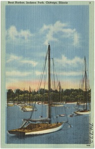 Boat harbor, Jackson Park, Chicago, Illinois