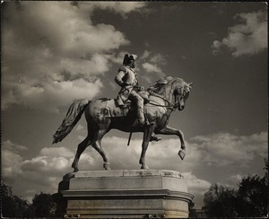 Ball's statue of Washington in Public Gardens
