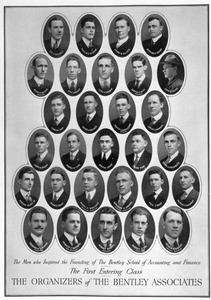Portraits of the first entering class, The Bentley Associates