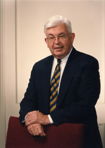 Official portrait of college president Joseph Cronin