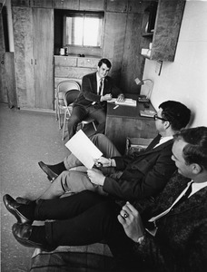 Students in Waltham dorm, 1969
