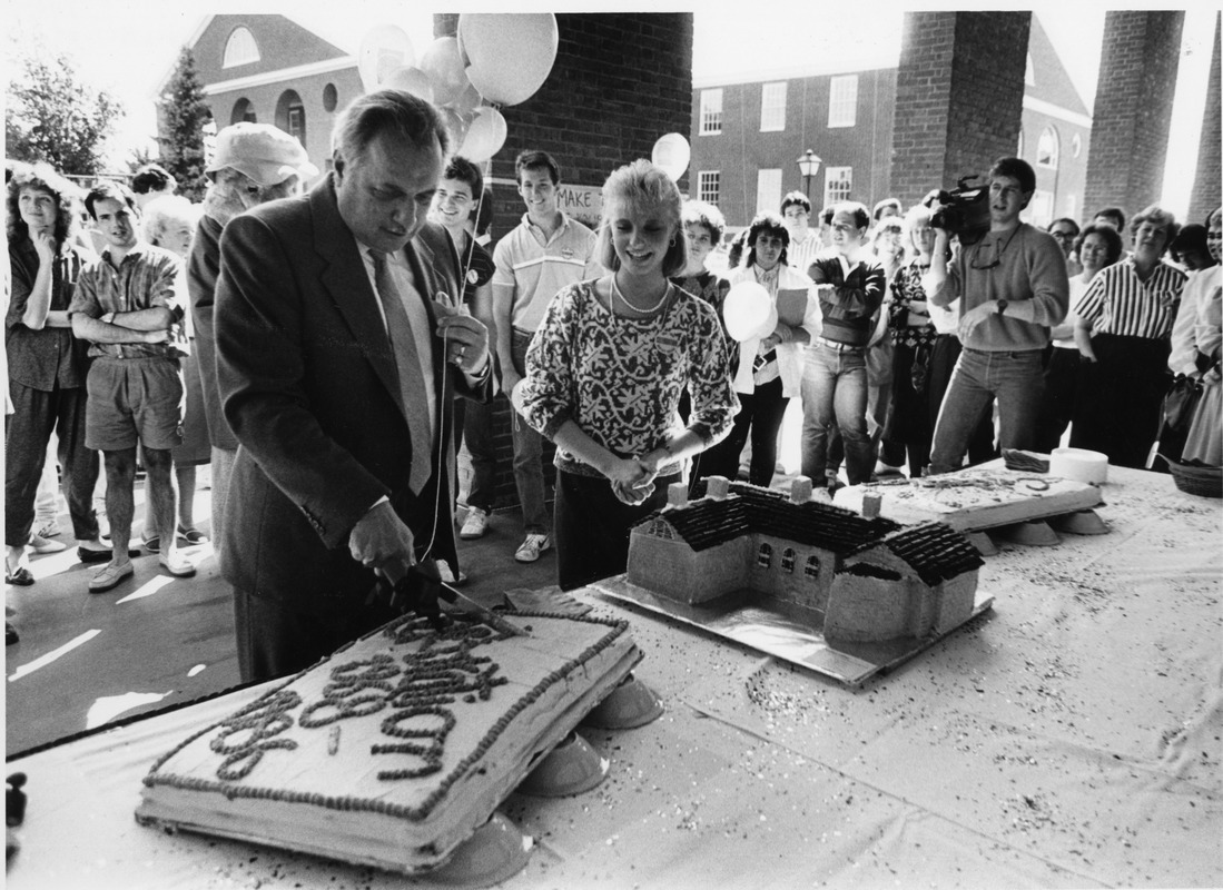 President Gregory Adamian attends LaCava Celebration 1986