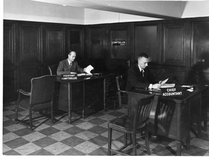 Chief accountant and Assistant Comptroller at 921 Boylston Street, Boston campus.