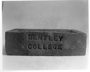 Bentley College brick - cornerstone/foundation