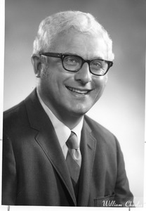 Portrait of [?] unidentified faculty staff or trustee