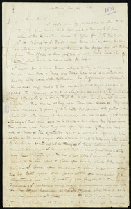Letter from H. Cawdrey, Acton, [Mass.], to William Lloyd Garrison, Jan. 29, 1838