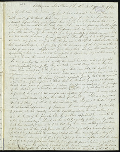 Letter from John Anderson Collins, 6 Queen St[reet] Place, Southwork Bridge, to William Lloyd Garrison, Dec. 7(?) / [18]40