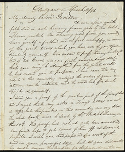 Letter from John Anderson Collins, Glasgow, [Scotland], to William Lloyd Garrison, March 2 / [18]41