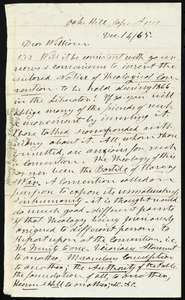 Letter from Henry Clarke Wright, Oak Hill, Cape Ann, [Mass.], to William Lloyd Garrison, Dec. 14 / [18]65