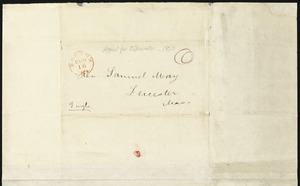 Letter from Francis Jackson, Boston, to Samuel May, Jan. 9, 1843