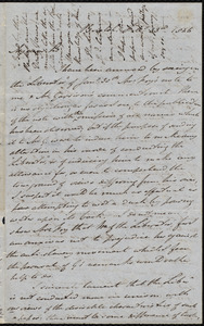 Letter from John Bishop Estlin, Bristol, to Samuel May, February 13th, 1846