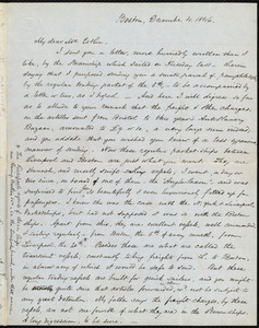Letter from Samuel May, Boston, to John Bishop Estlin, December 4 and 5, 1846