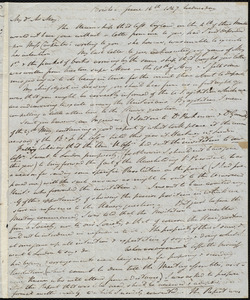 Letter from John Bishop Estlin, Bristol, to Samuel May, June 16th, 1847