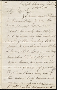 Letter from Joseph Hutton, Dublin, to Samuel May, July 3rd, 1851