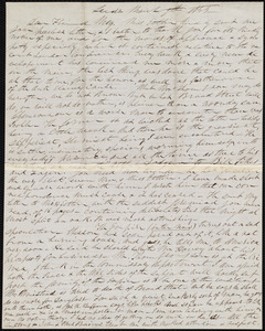 Letter from Parker Pillsbury, Leeds, [England], to Samuel May, March 9th, 1855