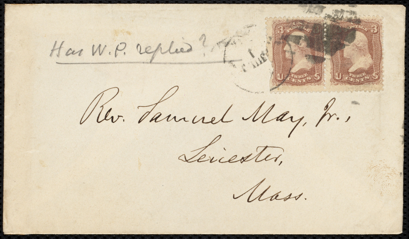Letter from Oliver Johnson, New York, to Samuel May, 30 June, 1864