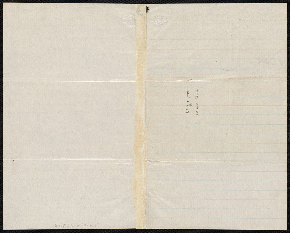 Draft of a set of resolutions by Samuel May