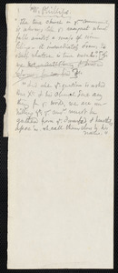 Notes by Samuel May