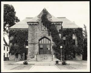 Newton Free Library, Old Main Library, Centre Street, 1880-1971