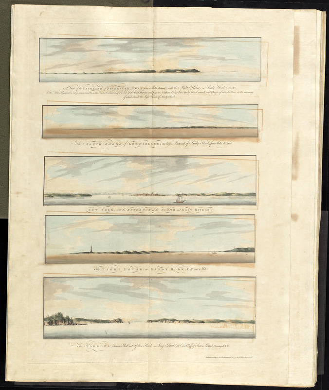 [Views of the entrance to New York Harbor]