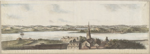 [Charlestown Promontory, the ruins of the town after the Battle of Bunker Hill and General Howe's encampment]
