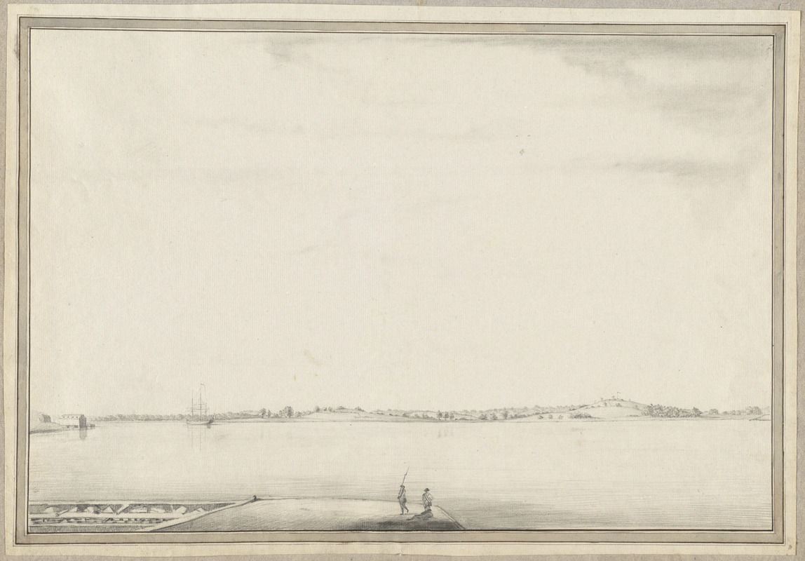 [View of the Charles River]