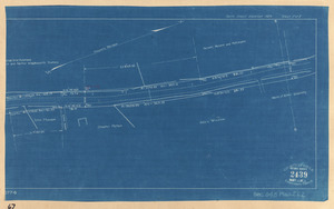 Plan of a portion of South Street from Thatcher's Road Northerly in the Town of Rockport as altered