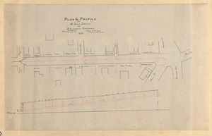 Plan & profile of 12 inch drain on Broadway, Rockport
